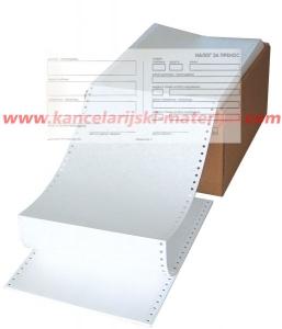 Nalog za prenos obrazac broj 3 (1+1) na beskonačnom papiru