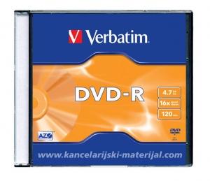 VERBATIM DVD-R 4.7GB 16x 120min