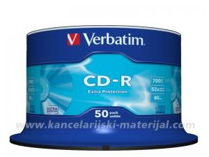 VERBATIM CD-R 700MB 1/50 spindle