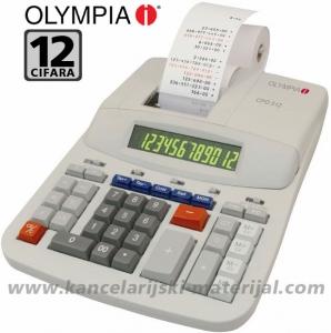 OLYMPIA CPD 512 računska mašina sa trakom i 12 cifara