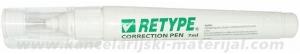 RETYPE korektor u olovci 7ml