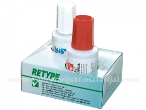 RETYPE korektor SET 1/2 SOLVENT
