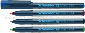 SCHNEIDER 244 MAXX marker za CD/DVD zaobljeni vrh (0.7mm)