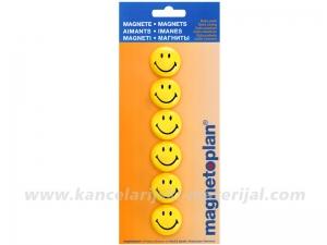 MAGNETOPLAN magneti SMILEY Ø30mm 1/6