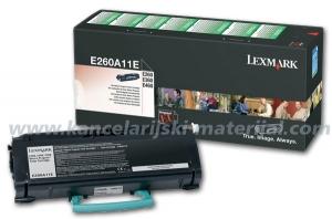 LEXMARK toner E260A11E BLACK