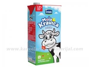 IMLEK MLEKO 2.8% 1L, pakovanje 12 kom