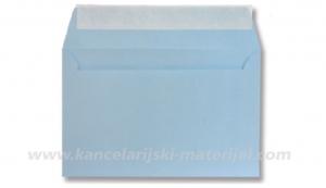 Koverta samolepljiva plava B6 120x180 70g