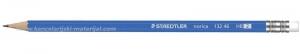 STAEDTLER Norica 132-46 grafitna olovka HB sa gumicom