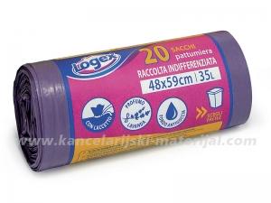 LOGEX 623DA parfimisane kese za smeće 35L 1/20