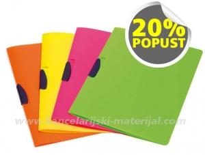FELLOWES Shocking File - CLIPPER PP fascikla sa klipom mix 4 boje