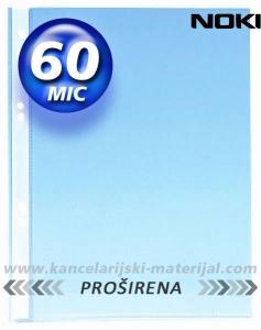 NOKI U folija 60mic MAT PROŠIRENA A4+ 1/100