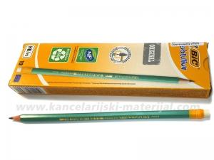 12 BIC grafitnih olovaka sa gumicom EVOLUTION 655 HB