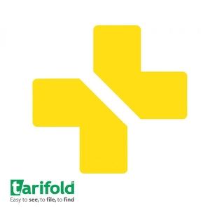 TARIFOLD simbol za podno obeležavanje u žutoj boji 1/10
