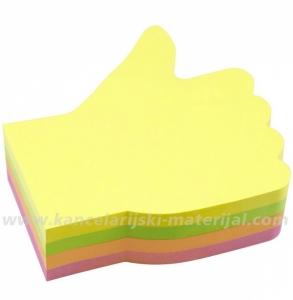 INFO NOTES 5825-39 samolepljivi blok HAND