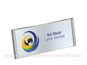 TARIFOLD bedž za korporativnu identifikaciju 80x34mm magnetni 1/20 (200413)