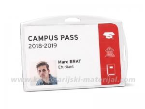 TARIFOLD držač za ID kartice ACRYL CLEAR 96x64mm 1/10 (200420)