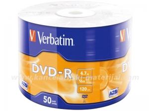 VERBATIM DVD-R 4.7GB x16 1/50 Wrap (u foliji)