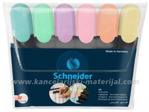 SCHNEIDER Job 150 Pastel signir/tekst marker SET 1/6
