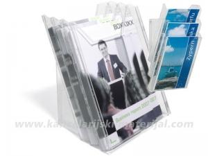 DURABLE Combibox A4 vertikalni stalak za prospekte - stoni/zidni