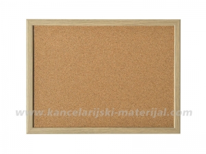 MAGNETOPLAN pluto tabla sa drvenim ramom 80x60cm Cork Board
