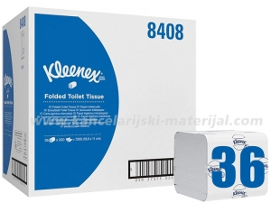 KIMBERLY CLARK 8408 Kleenex Ultra toalet papir u listićima 1/36