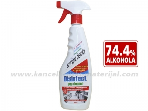 DISINFECT Eco Cleaner sredstvo za brzu dezinfekciju 500ml sa raspršivačem