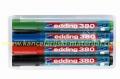 EDDING flipchart marker 380 zaobljeni, set 1/4