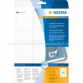 Herma etikete Superprint 63x8.5mm A4/96 1/25 removable