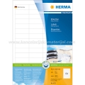 Herma etikete Superprint 48x16 A4/64 1/100 bela