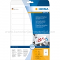 Herma etikete Superprint 63x29.6mm A4/27 1/25 removable