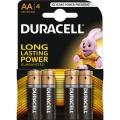 DURACELL AA alkalna baterija (LR6) 1.5V 1/4