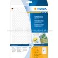 Herma etikete Superprint Ø10mm A4/315 1/25 removable