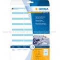Herma ID etikete 63x29mm plavi okvir A4/27 1/25