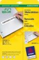 AVERY ZWECKFORM 6031 univerzalne bele nalepnice 96x16.9mm STICK+LIFT