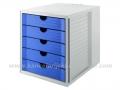 HAN SYSTEM BOX polica za dokumentaciju sa 5 fioka