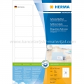 Herma etikete Superprint 63.5x38.1 A4/21 1/100 bela