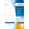 Herma etikete PROVIDNE 66x33.8mm A4/24 25L