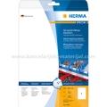 Herma etikete WEATHERPROOF OUTDOOR 210x297mm A4/1 25L bela