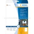Herma etikete WEATHERPROOF OUTDOOR 210x297mm A4/1 10L bela