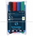 SCHNEIDER MAXX 290 set univerzalnih board/flipchart markera 4 boje