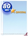 KANGARO U folija 80mic CRYSTAL A4 1/100