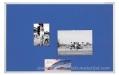 MAGNETOPLAN tekstilna tabla 60x90cm SP PINBOARD plava