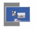 MAGNETOPLAN tekstilna tabla 90x120cm SP PINBOARD