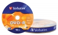 VERBATIM DVD-R 4.7GB x16 1/10 Wrap (u foliji)