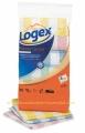 LOGEX 1199 pamučne krpe za sudove, 6 komada