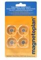 MAGNETOPLAN akrilni magnet Ø30mm 1/4