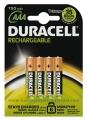 DURACELL AAA punjive baterije (MICRO/HR3) 750mAh, blister 1/4