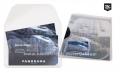 3L samolepljivi džep sa preklopom za vizitkarte 105x60mm 1/10