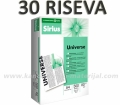 30 riseva fotokopir papira SIRIUS UNIVERSE A4 80g (6 KUTIJA)
