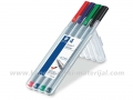 STAEDTLER TRIPLUS fineliner 334 0.3mm set 1/4